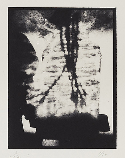 Solar I - Solar Plate Intaglio Print on Somerset Paper, 49.5cms x 40.0cms - Edition of 30 - £330.00 Framed